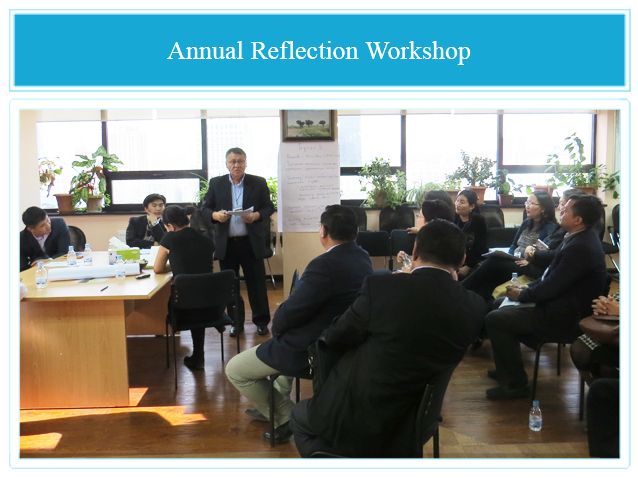 Attendees of the First Annual Reflection Workshop on 30th October 2013.